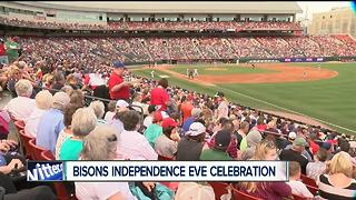 Independence Eve Celebration at Buffalo Bisons - Video