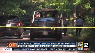 $10,000 reward offered in double homicide in Shady Side - Video