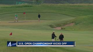 U.S. Open Championship kicks off - Video