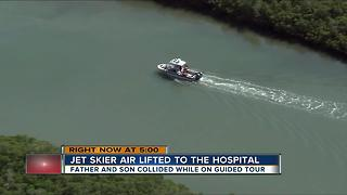 Jet ski accident near Caladesi Island, 14-year-old airlifted - Video