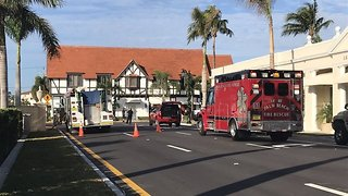 Traffic being detoured after gas leak - Video