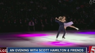 Ice Skating Event Benefits Cancer Foundation - Video
