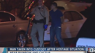 UPDATE: Man holds several people hostage early Thursday - Video