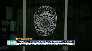 Palmetto Police Captain resigns amid investigation - Video