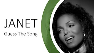 JANET JACKSON: GUESS THE SONG QUIZ