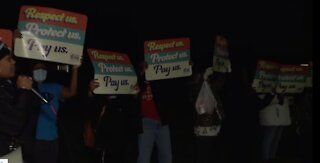 Workers at metro Detroit nursing home go on strike amid COVID-19 pandemic