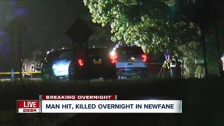 Man killed in pedestrian-involved crash in Niagara County - Video