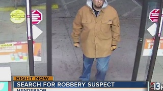 Henderson police seek suspect in convenience store robberies