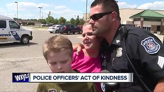 Mother thanks Southgate police officers for kindness to son - Video
