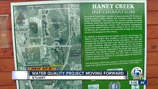 Water quality project moving forward - Video