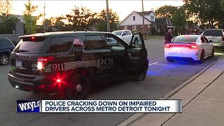 Ride along with Dearborn police as they search for drunk drivers - Video