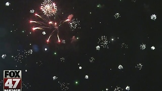 Meridian Township celebrates New Year's and 175th Anniversary - Video