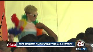 Circle City Indiana Pride Festival organizers encouraged by turnout - Video