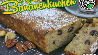 Veganer Bananenkuchen  - Video