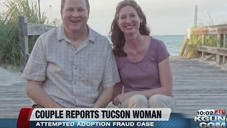 Tucson woman to be sentenced in adoption case - Video