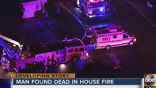 Deadly house fire in Scottsdale under investigation