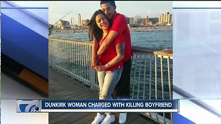 Dunkirk woman charged with killing boyfriend - Video