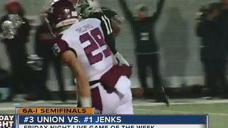 Jenks vs Union - Oklahoma High School Football - Video