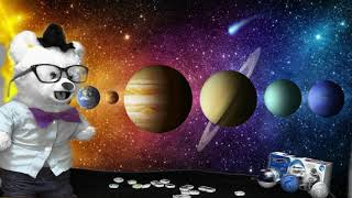 Go on a Space Adventure with Chumsky Bear | Solar System | Planets | Educational Videos for Kids