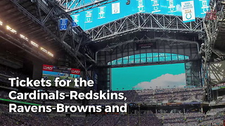 NFL Games Selling Cheaper Than High School Games - Video