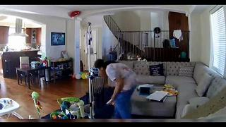 Nanny caught on camera beating special needs child