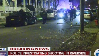 Man in serious condition after Riverside shooting - Video