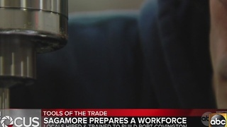 Sagamore testing job training program ahead of Port Covington construction - Video