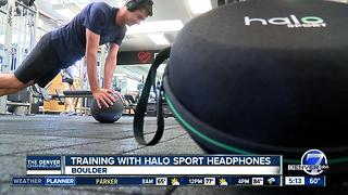 Why Boulder professional triathlete Tim O'Donnell trains with Halo Sport headphones - Video