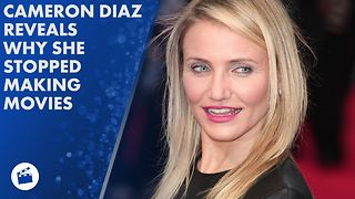 Cameron Diaz quit Hollywood to find herself - Video