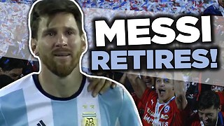 Lionel Messi RETIRES From International Football | Internet Reacts - Video