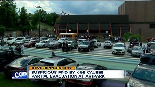 Concert resumes after evacuation at Artpark in Lewiston - Video