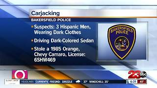 BPD looking for three armed carjacking suspects - Video