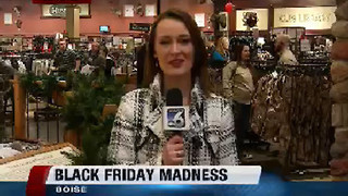 Black Friday at Cabela's in Boise - Video