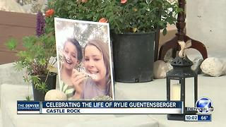Celebration of Life held for Rylie Guentensberger in Castle Rock - Video