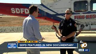 San Diego Fire Department featured in new documentary - Video