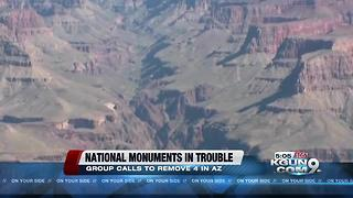 Four monuments could lose federal protection - Video