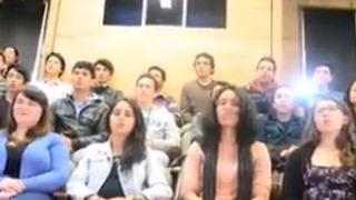 South American students and Rumi poems - Video