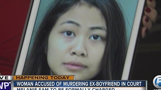20-year-old in court Tuesday to face charges in boyfriend's homicide - Video