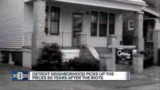 Detroit neighborhood picks up the pieces 50 years after the riots - Video
