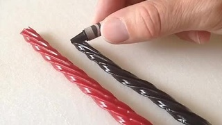 How to make Twizzler candy at home - Video
