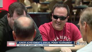 Junior Achievements annual charity poker tournament - Video