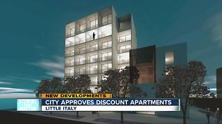 City approves discounted apartments in Little Italy - Video