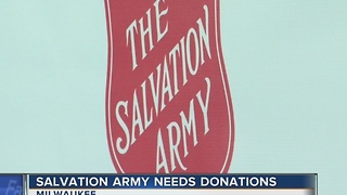 Salvation Army makes final push to reach red kettle goal - Video