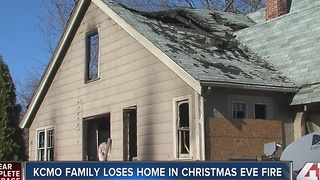 KC woman seeking help after Christmas Eve fire - Video