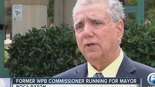 Former WPB commissioner running for mayor - Video