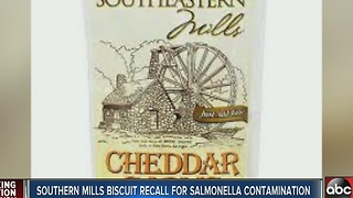 Southeastern Mills Biscuit Mix recalled due to possible salmonella contamination - Video