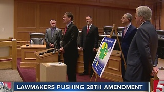 State Lawmakers Call For Constitutional Convention - Video