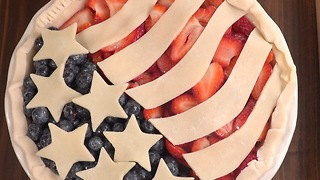 Old Glory Berry Pie - Video