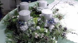 DIY Christmas, Advent Wreath - Video