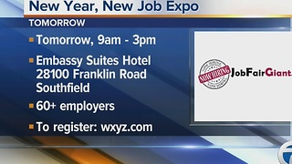 Workers Wanted: New Year, New Job Expo - Video